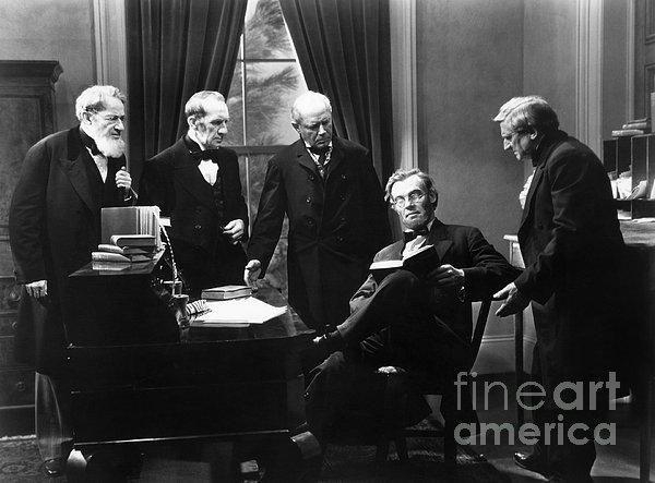 Film Still: Abraham Lincoln Print by Granger