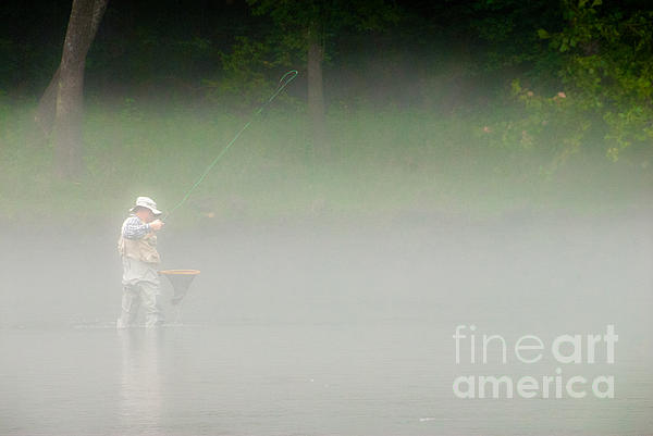 Cindy Tiefenbrunn - Fog fishing