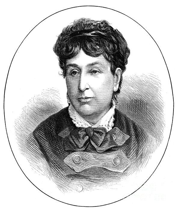 George Sand (1804-1876) Print by Granger