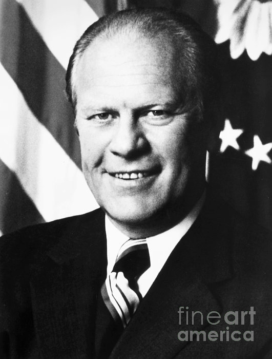 Gerald Rudolph Ford By Granger