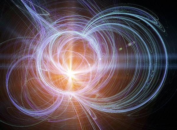 Higgs Boson, Conceptual Artwork Print by Pasieka