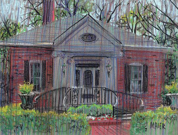 Hiram Butler House Print by Donald Maier
