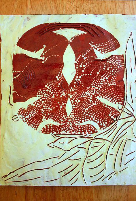 Holy Trinity  Print by Gloria Ssali