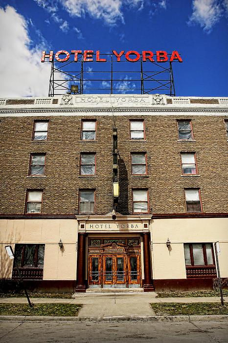 Hotel Yorba Print by Gordon Dean II