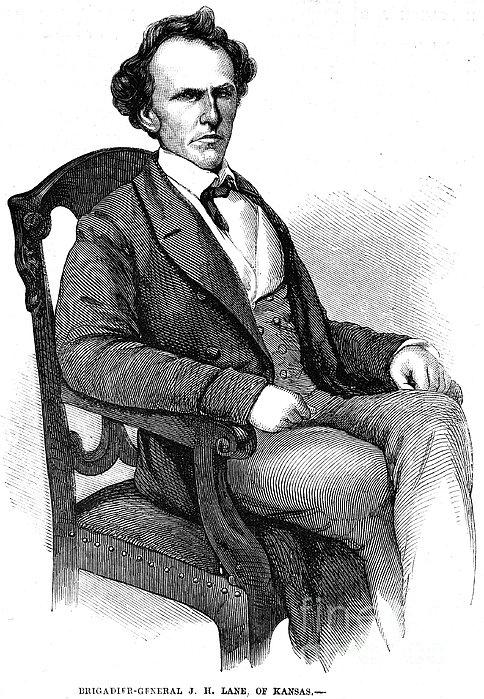 James Henry Lane Print by Granger