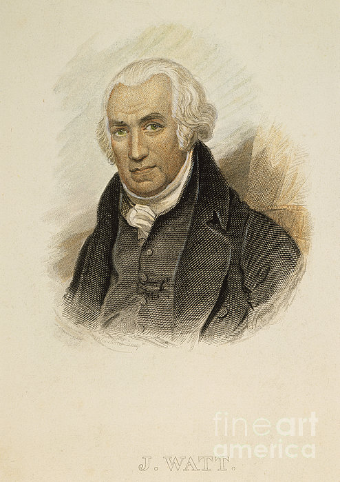 James Watt (1736-1819) Print by Granger