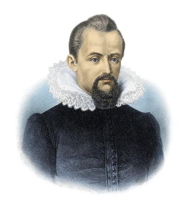 Johannes Kepler, German Astronomer Print by Detlev Van Ravenswaay