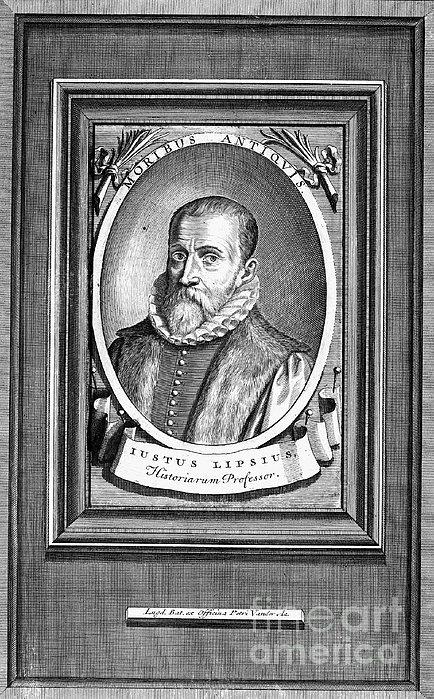 Justus Lipsius (1547-1606) Print by Granger