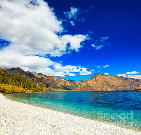 Lake Wakatipu Print by MotHaiBaPhoto Prints