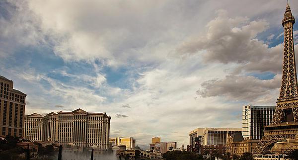 Las Vegas Print by Patrick  Flynn