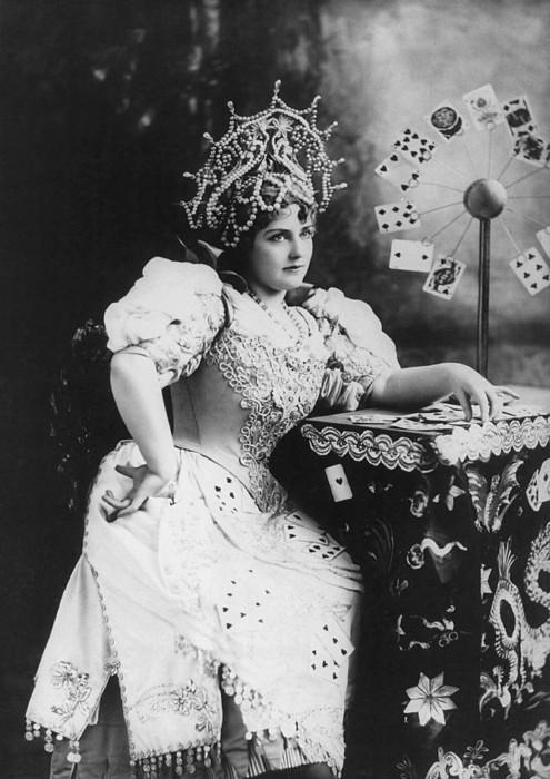 Lillian Russell 1861-1922, American Print by Everett