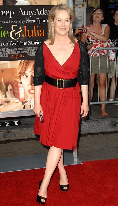 Meryl Streep At Arrivals For Julie & Print by Everett