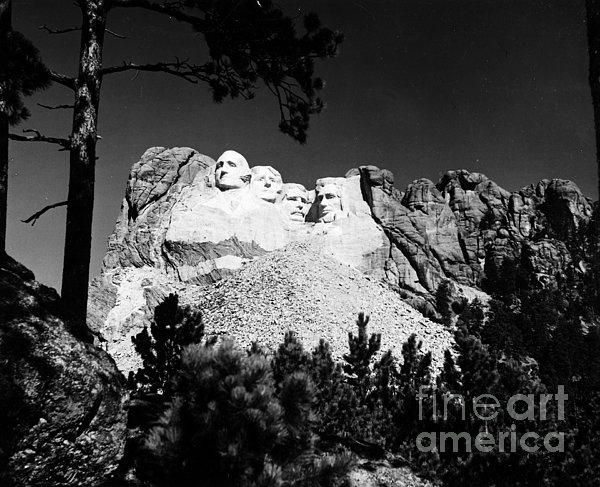 Mount Rushmore Print by Granger