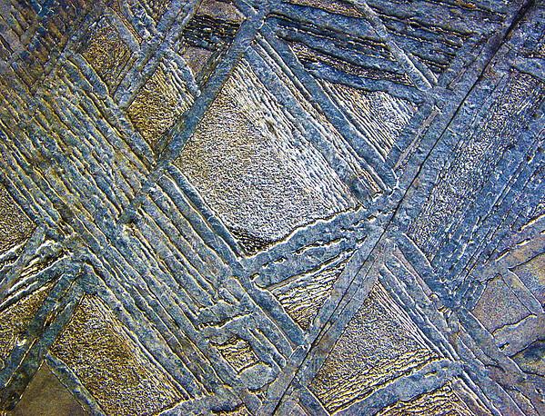 Muonionalusta Meteorite, Macrophotograph Print by Pasieka
