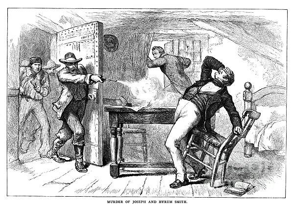 Murder Of Smith, 1844 Print by Granger