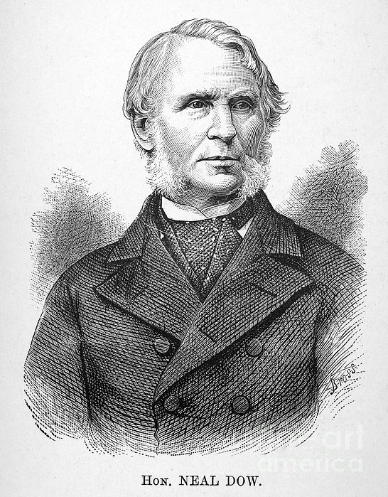 Neal Dow (1804-1897) Print by Granger