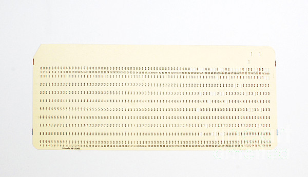 Punch Card Print by Photo Researchers, Inc.