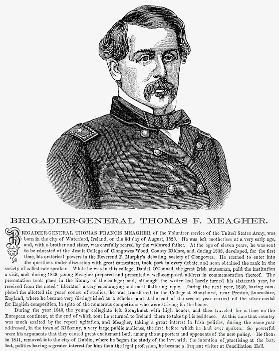 Thomas Francis Meagher Print by Granger