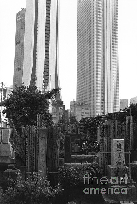 Tokyo Print by Bernard Wolff