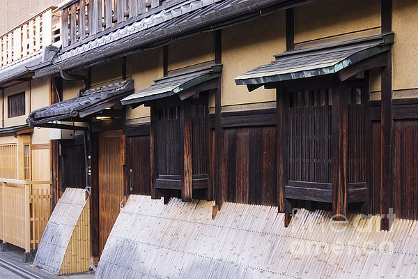 Traditional Japanese House Print by Jeremy Woodhouse