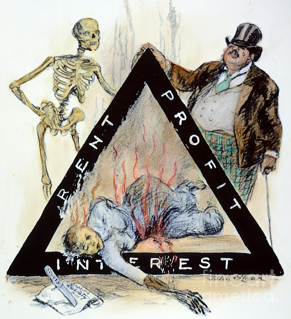 Triangle Factory Fire Print by Granger
