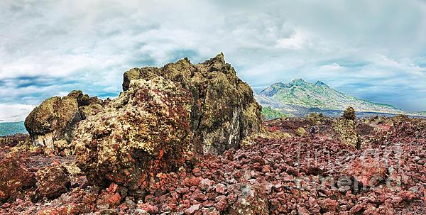 Volcano Batur Print by MotHaiBaPhoto Prints