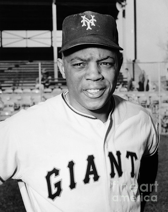 Willie Mays (1931- ) Print by Granger