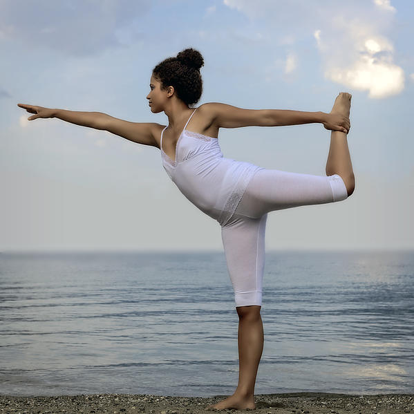 Yoga Print by Joana Kruse