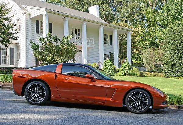 2005 Corvette C6 Print by John Black