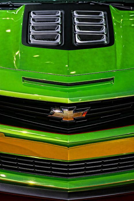 2012 Chevy Camaro Hot Wheels Concept Print by Gordon Dean II