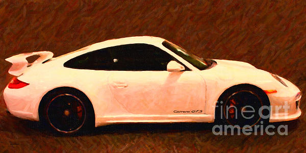 2012 Porsche 911 Carrera Gts Print by Wingsdomain Art and Photography