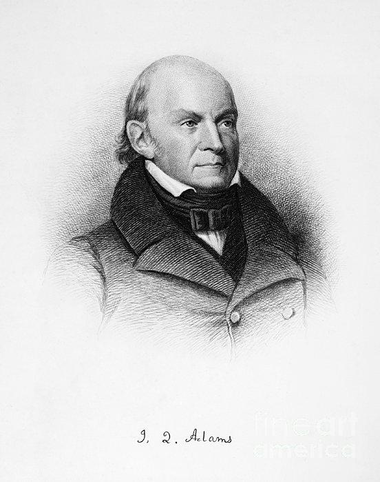 John Quincy Adams Print by Granger