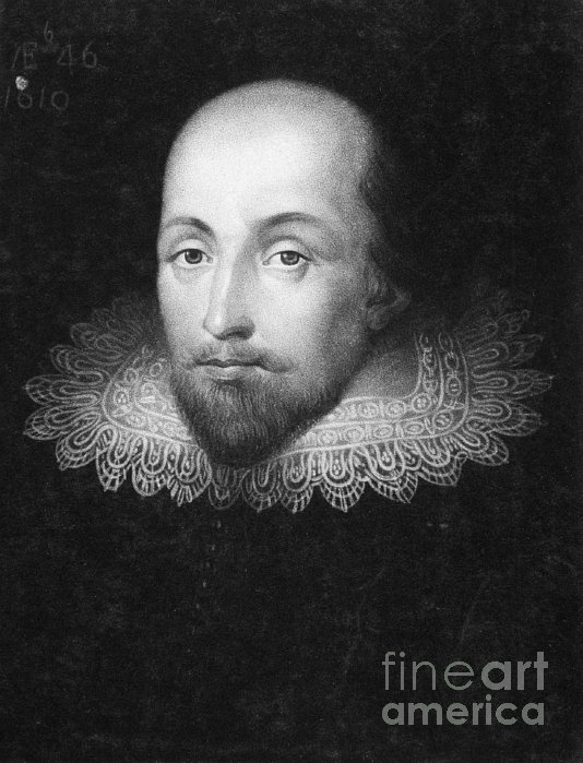 a description of william shakespeare a great english playwright dramatist and poet