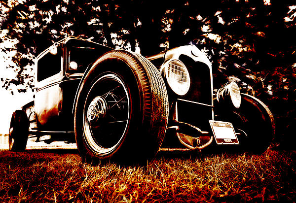 29 Ford Pickup Print by Phil 'motography' Clark