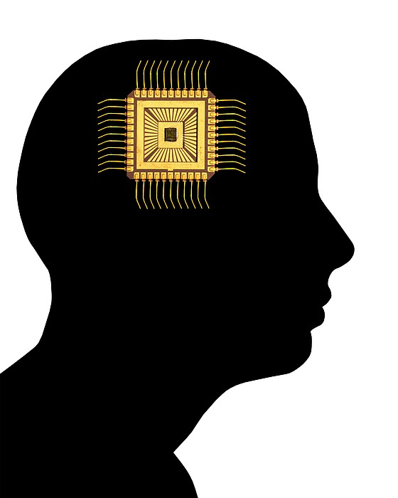 Artificial Intelligence And Cybernetics Print by Victor De Schwanberg