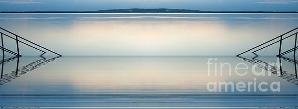 Blue Lake Print by Odon Czintos