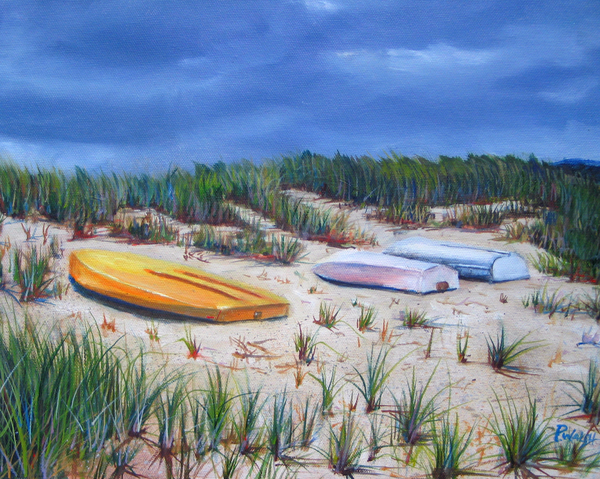 3 Boats Print by Paul Walsh