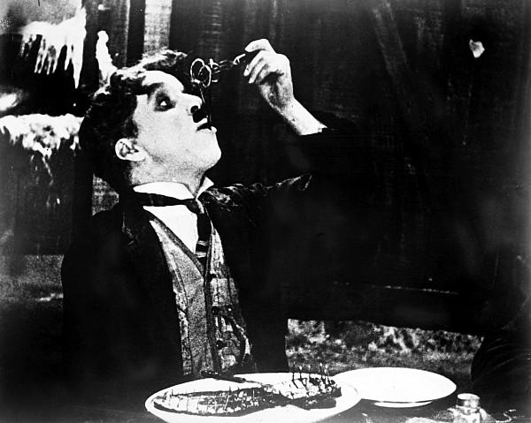 Chaplin: Gold Rush. 1925 Print by Granger