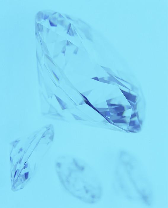 Diamonds Print by Lawrence Lawry