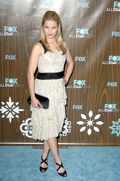 Dianna Agron At Arrivals For Fox Print by Everett