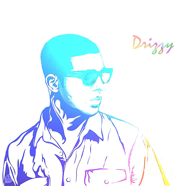 Drizzy  Print by The DigArtisT