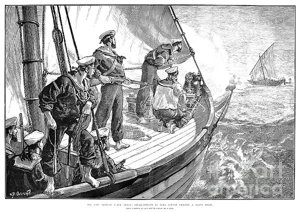 East Africa: Slave Trade Print by Granger