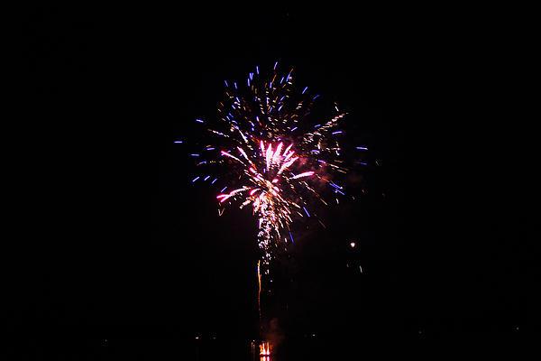 Fireworks Print by Robbie Basquez