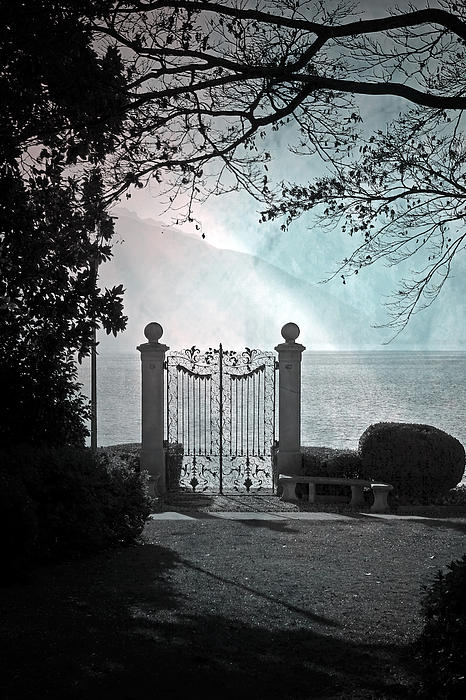 Gateway To The Lake Print by Joana Kruse