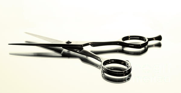 Hair Shears Print by Blink Images