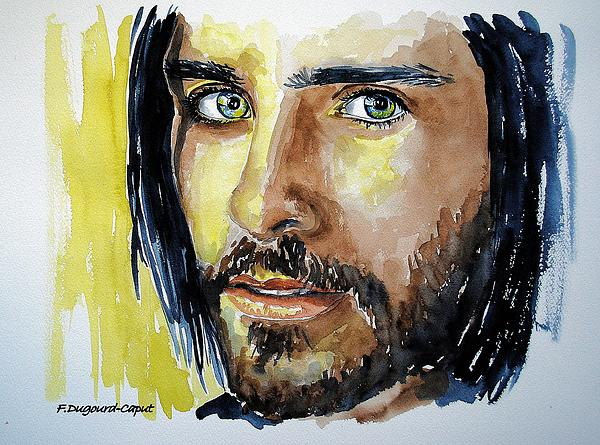 Jared Leto Print by Francoise Dugourd-Caput