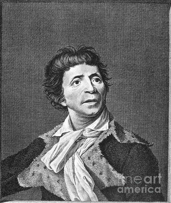 Jean-paul Marat (1743-1793) Print by Granger
