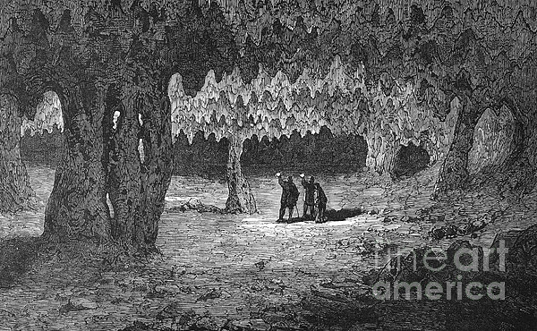 Kentucky: Mammoth Cave Print by Granger
