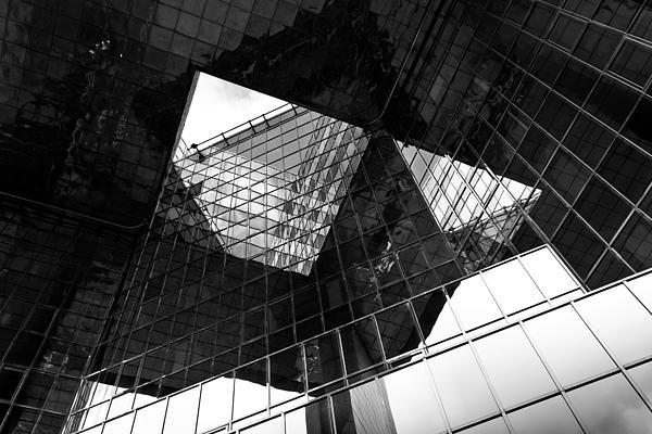 London Southbank Abstract Print by David Pyatt