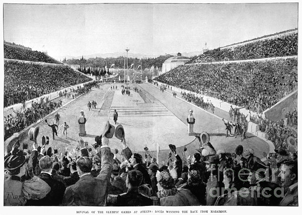 Olympic Games, 1896 Print by Granger